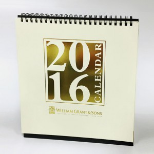 印刷設計-桌曆印刷-william